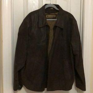 Columbia men's leather jacket